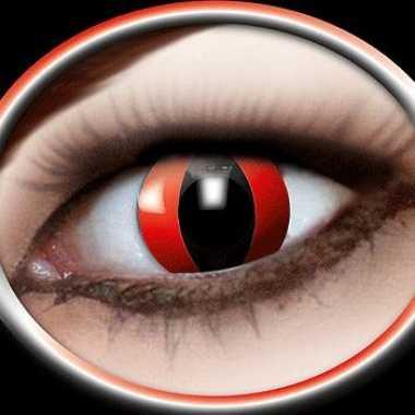 Carnaval carnaval lenzen rode katten ogen