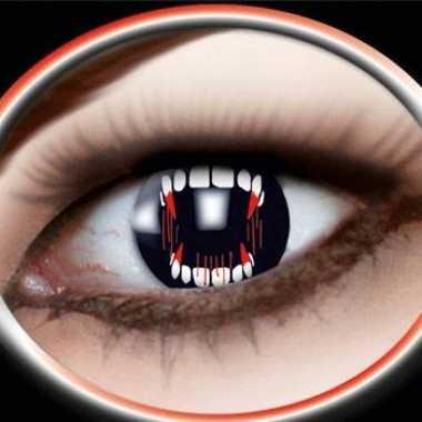Carnaval carnaval lenzen vampier gebit