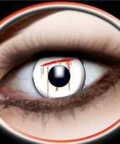 Carnaval lenzen bloedend oog