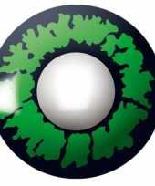 Carnaval lenzen groene reptiel ogen