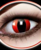 Carnaval lenzen rode katten ogen