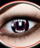 Carnaval lenzen vampier gebit